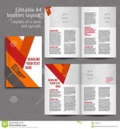 book design a4 book layout design template stock vector image 57980616