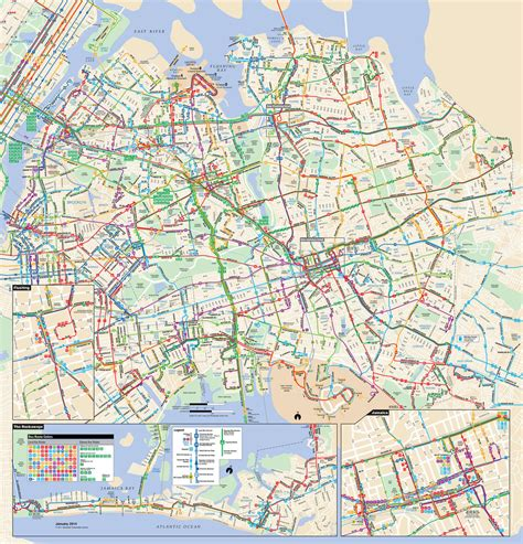 map  nyc bus stations lines