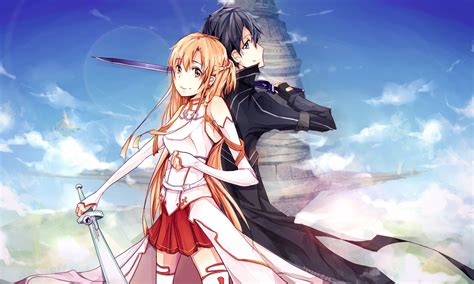 Anime Wallpaper by Kirito And Asuna 15 Wallpapers Your Daily Anime