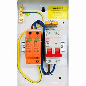 Fusebox F1m2spd Stand Alone Surge Protection Device With Isolator