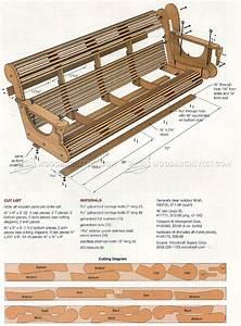 Classic Porch Swing Plans • WoodArchivist