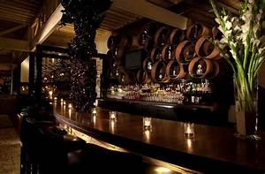Sophisticated and elegant bar interior design of red o for Elegant bar interior design ideas