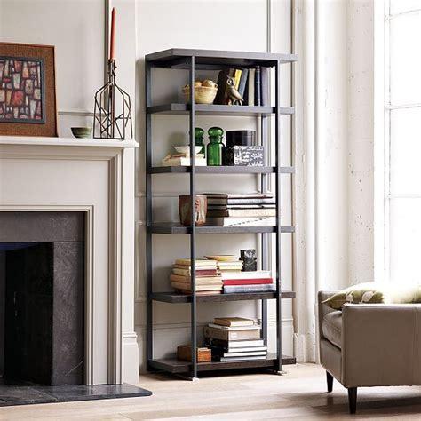 west elm flat bar storage desk flat bar bookcase modern bookcases by west elm