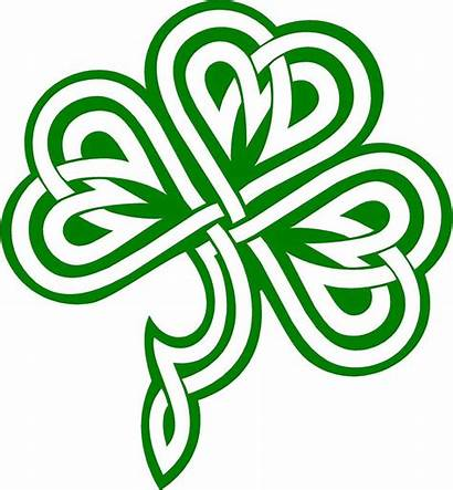 Shamrock Irish Celtic Clipart Clip Clipartmag
