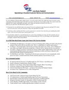 new realtor resume sle 37 real estate resume sles to help you vntask