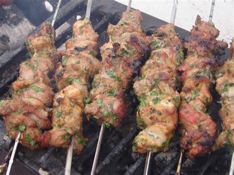 cuisine viande brochettes de mouton le maroc
