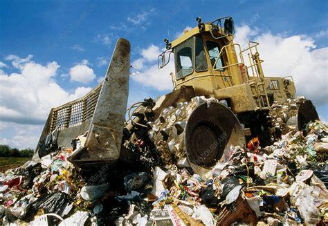 Landfill site - Stock Image - E800/0242 - Science Photo ...