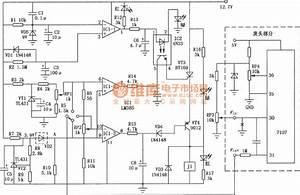Electronic Refrigerator Temperature Controller Circuit