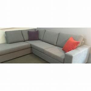Sofa Sectionnel Gris