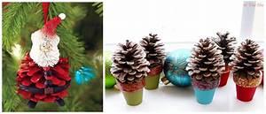 Pom De Pin Sallanches : bricolage no l pomme de pin ~ Premium-room.com Idées de Décoration