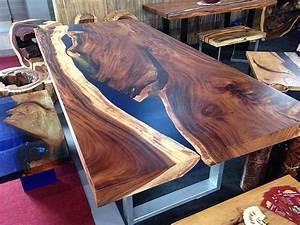 Esstisch Aus Massivem Palisander Holz Im Modernen Block