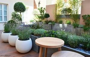 Grand Pot Plante : d coration de jardins et terrasses ~ Premium-room.com Idées de Décoration