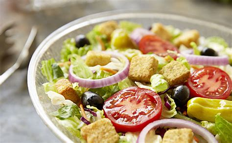 soup and salad olive garden unlimited our house salad lunch dinner menu