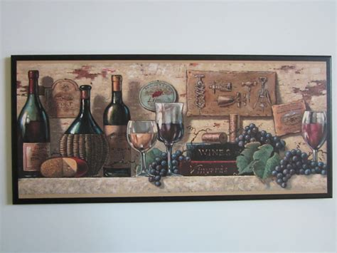Tuscan Wall Decor For Kitchen by Wine Kitchen Wall Decor Plaque Tuscany By Ozarkmtnhomestead