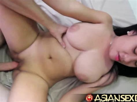 Asian Sex Diary White Cock Fucks Asian Babe With