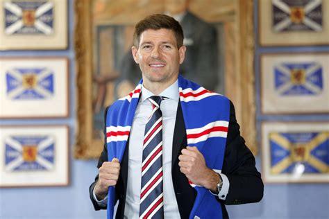 Steven Gerrard sends message to Rangers fans ahead of ...