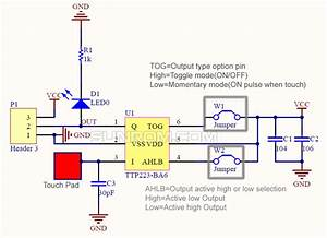 1 Channel Capacitive Touch Module