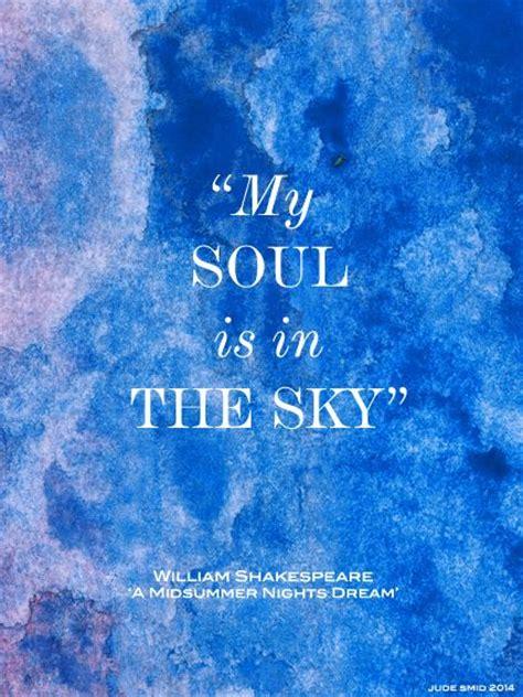 william shakespeare quotes  soul    sky