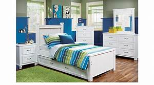 Cottage, Color, Alternate, S, White, 5, Pc, Twin, Panel, Bedroom