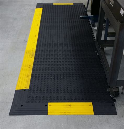 ergodeck solid anti fatigue mats with integrated no slip
