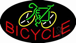 Bicycle Animated Neon Sign