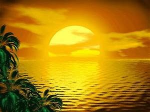 SUNSET OF A SUNNY PARADISE by Aim4Beauty | ༺♥༻ Gif ...