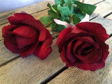 red velvet rose bud heavenly homes gardens silk