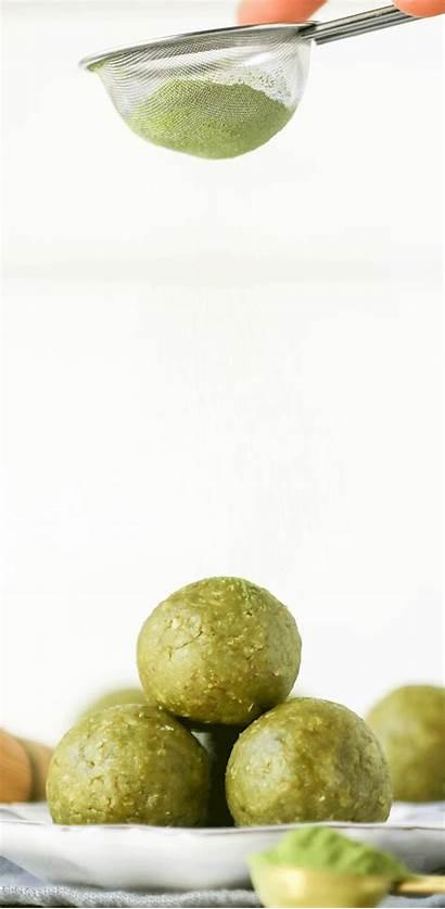 Energy Tea Matcha Bites Healthy Balls Vegan