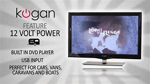 Kogan LED & LCD TV Feature Video - 12 Volt Power - YouTube