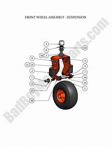 Bad Boy Parts Lookup 2008 Pup And Lightning Front Wheel W