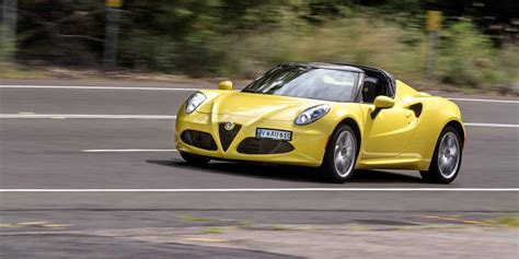 Alfa Romeo Spider Review by 2016 Alfa Romeo 4c Spider Review Caradvice
