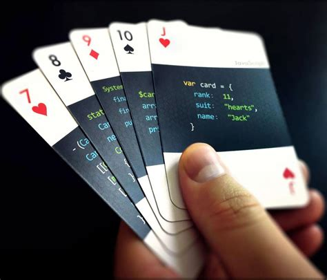 codedeck  playing cards  developers