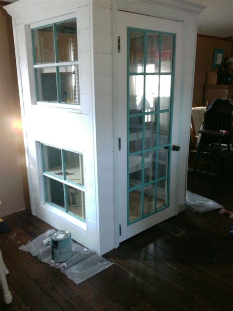 hometalk diy cabinet pantry   doors  windoors