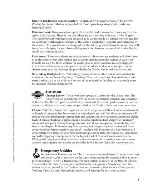 glencoe mcgraw hill worksheet answers free worksheets