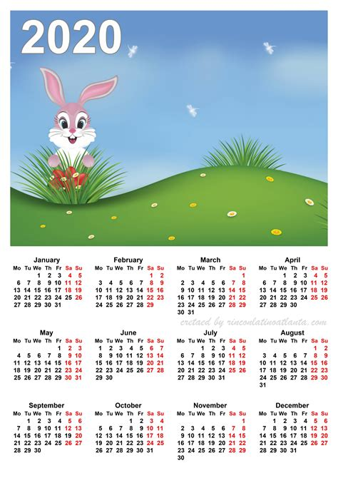 calendar printable page calendar template printable
