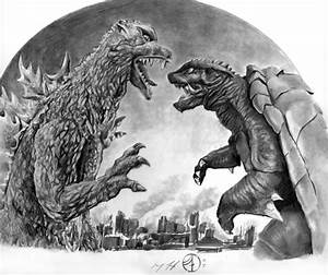Godzilla vs. Gamera, in Jay Fife's Misc Art Comic Art ...