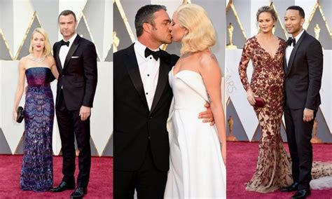Oscars The Cutest Red Carpet Couples Hello