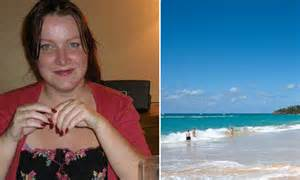 british woman 36 killed after being hit by strong wave on dominican republic beach is named as