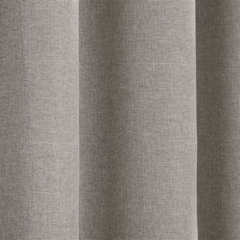 Linen Look Textured Blackout Thermal Tape Top Curtains Tonys Textiles