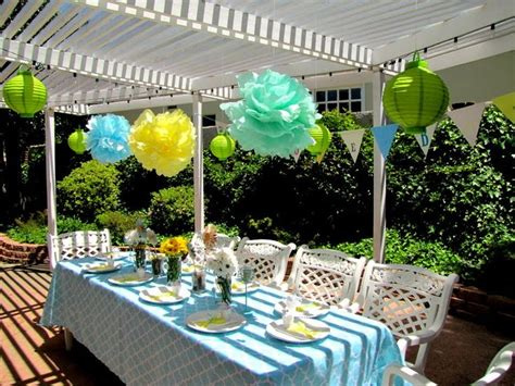 outdoor baby shower ideas best baby decoration