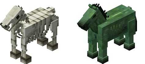 The Zombie/skeleton Horses