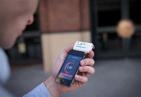 iphone breathalyzer breathometer iphone breathalyzer hiconsumption