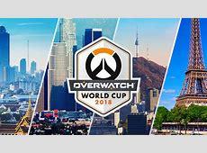 Grupos, equipas e calendário do Overwatch World Cup 2018
