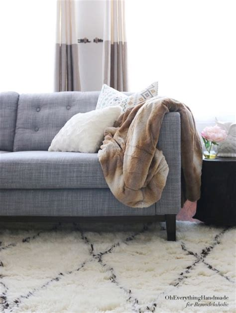 karlstad sofa leg height remodelaholic ikea karlstad sofa tapered leg tutorial