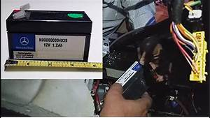 Batterie 205 Diesel : how to remove mercedes battery auxiliary battery w164 mercedes ml500 youtube ~ Melissatoandfro.com Idées de Décoration