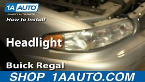 Headlights 1999 Buick Regal Wiring