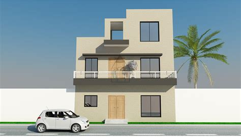 4 Marla Home Design : 4 Marla House Map. This Is A 4 Marla House Design Of A
