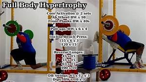 Full Body Hypertrophy