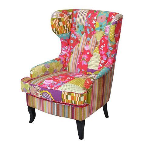 Bunte Stühle Günstig by Ohrensessel Fernsehsessel Armlehnenstuhl Patchwork Bunt