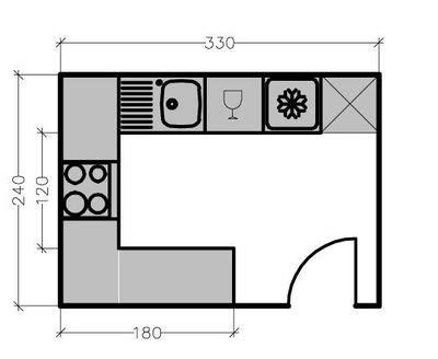 plan cuisine 6m2 15 plans de grandes cuisines côté maison